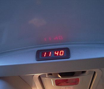 Letrero led frontal para autobús