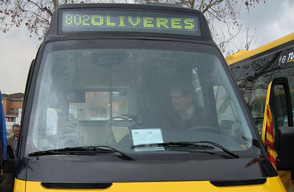 Minibus DOT LED