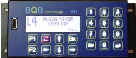 Programador de LEDs para autobuses